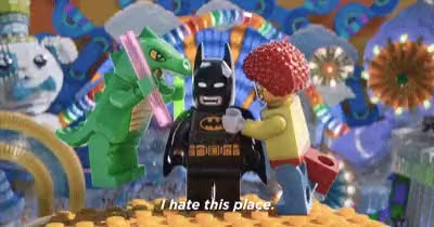 Watch and share Lego-Batman GIFs on Gfycat
