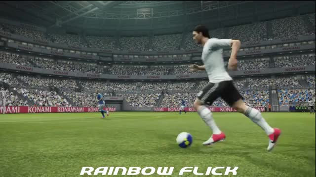 Watch PES 2013 rainbow flick GIF by FIFPRO Stats (@rahspot) on Gfycat. Discover more related GIFs on Gfycat