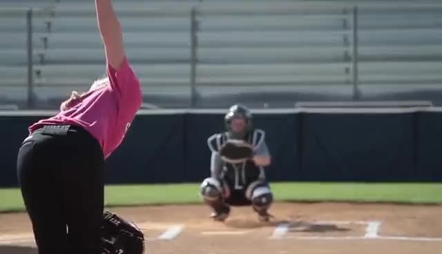 Watch and share Softball GIFs and Sports GIFs on Gfycat