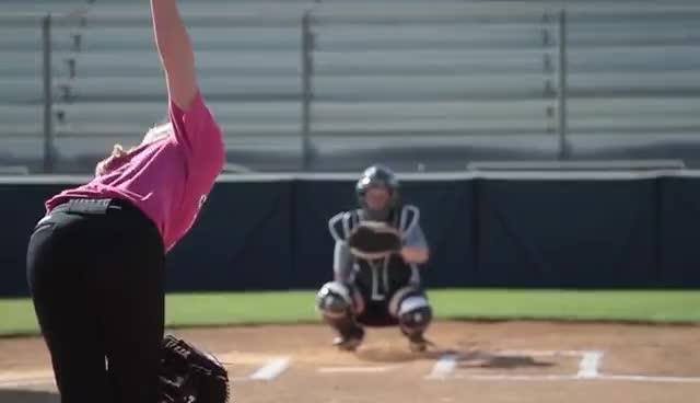 softball, sports, So Pro Pitching GIFs