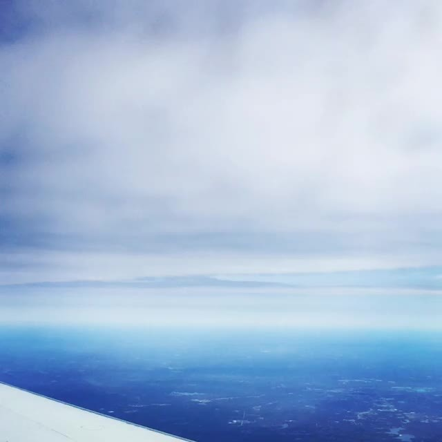 aviation, I was on a CRJ-200 en route ATL to GNV yesterday, and the clouds were at just the right altitude (reddit) GIFs