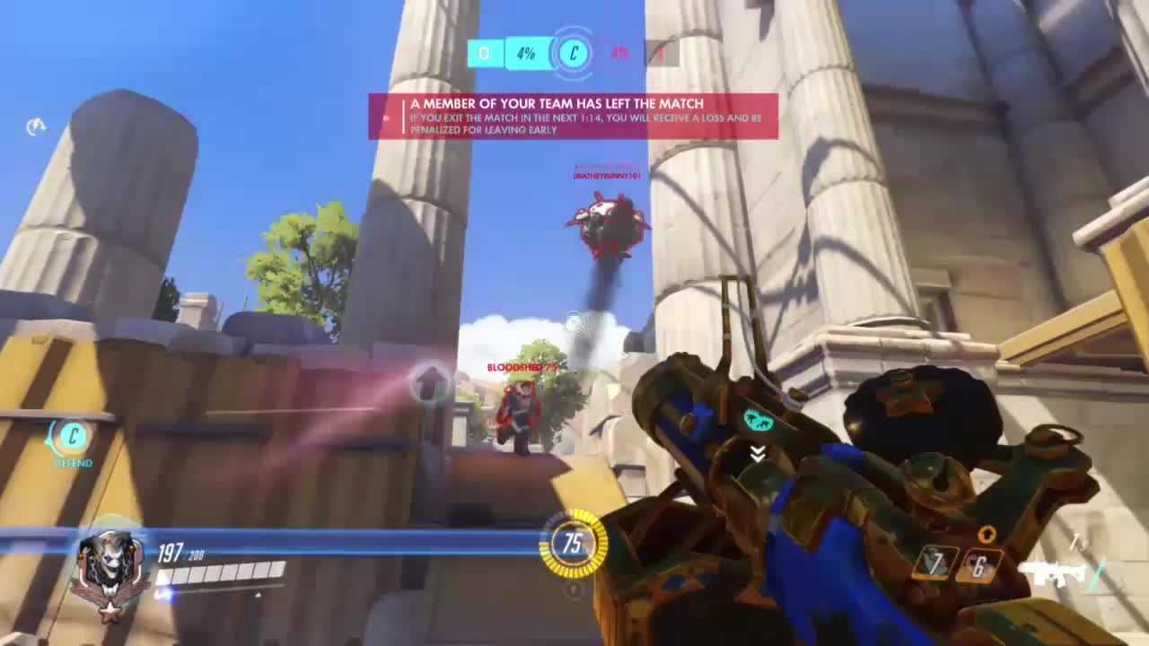 WatchMeiDie, overwatch, owconsole, Congrats Mei, you played yourself GIFs