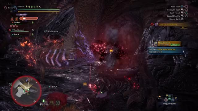 Watch and share Gol Rathian GIFs and Long Sword GIFs by Swanter on Gfycat