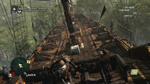 Watch [Assassin's Creed 4] Cliff dead ahead sir (reddit) GIF by @thebrowncanadian on Gfycat. Discover more GamePhysics, gamephysics GIFs on Gfycat