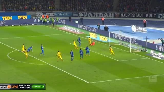 Watch and share Hertha Berlin Vs Borussia Dortmund 2-3 Highlights & All Goals (16 03 2019) GIFs on Gfycat