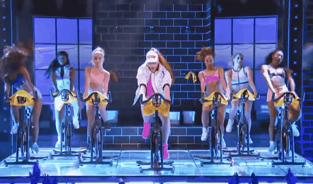 Watch this bicycle GIF by GIF Queen (@ioanna) on Gfycat. Discover more battle, bicycle, bike, dance, epic, fit, funny, gym, hoyling, lip, move, moving, out, pentatonix, scott, side, side to side, sync, to, work GIFs on Gfycat