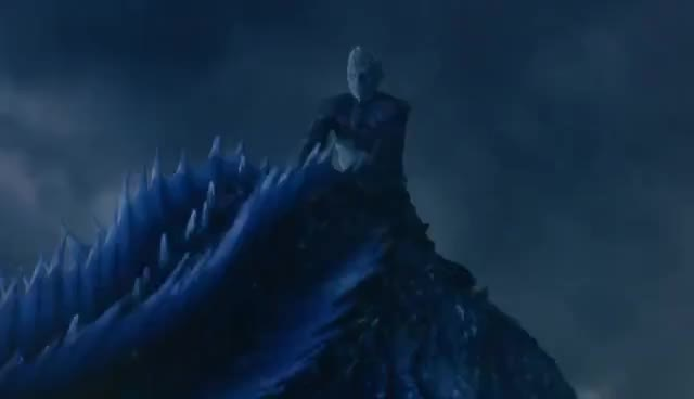 night king, Game Of Thrones S07E07 The Night King Attacks GIFs