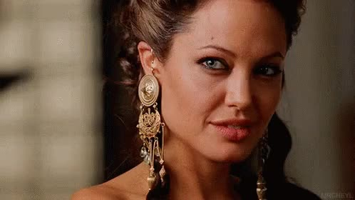 Watch Angelina Jolie GIF on Gfycat. Discover more related GIFs on Gfycat
