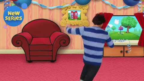 Watch and share Blue's Big Birthday GIFs and Blue's Clues GIFs by MusicClues Cluey on Gfycat