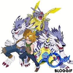 Watch and share Digimon Adventure Tsunomon Gabumon WereGarurumon MetalGarurumon GIFs on Gfycat