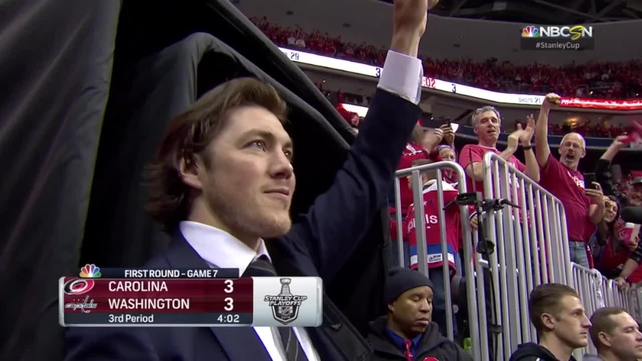 TJ Oshie at Caps game GIFs