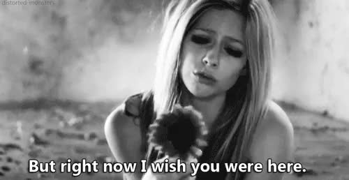 Watch this GIF on Gfycat. Discover more avril, avril lavigne, beatiful, book quote, flowers, gif, gifs, heart, heartbreak, heartbroken, here, i love you, i miss him, i miss you, lavigne, love, love quote, love quotes, lovely, loving, lyrics, miss, picture quote, quotes, rock, song lyrics, song of the day, wish, wishyouwerehere GIFs on Gfycat