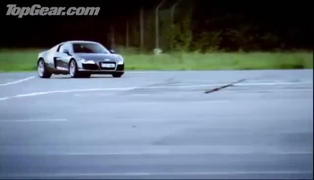Watch and share Audi R8 Vs Porsche 911 Carrera - Top Gear - BBC GIFs on Gfycat