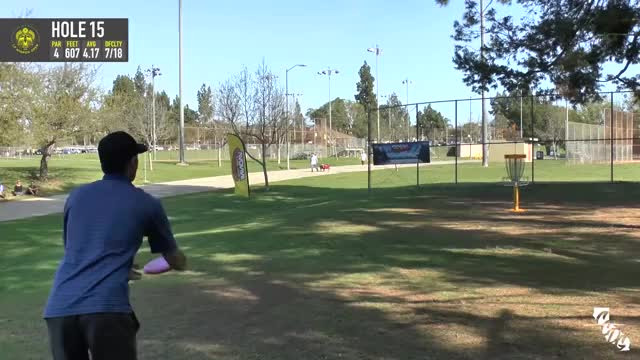 Watch 2016 - La Mirada Open - Final Round - Hole 15 - Dana Vicich long putt GIF by @rprodart on Gfycat. Discover more disc, disc golf, open GIFs on Gfycat
