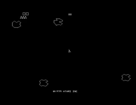 Watch and share Asteroids GIFs and Atari GIFs on Gfycat