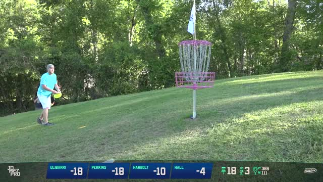 Watch Anthony AP Perkins winning putt Texas State Disc Golf Championship GIF on Gfycat. Discover more disc golf, disc golf 2018, frisbee, frisbee golf, frolf, jomez disc golf, pro disc golf GIFs on Gfycat