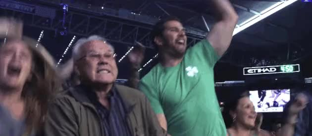Ronda's friends & family:Holly's friends & family:Joe Rogan & Mike