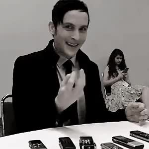 Watch and share Robin Lord Taylor GIFs and Again And Again GIFs on Gfycat