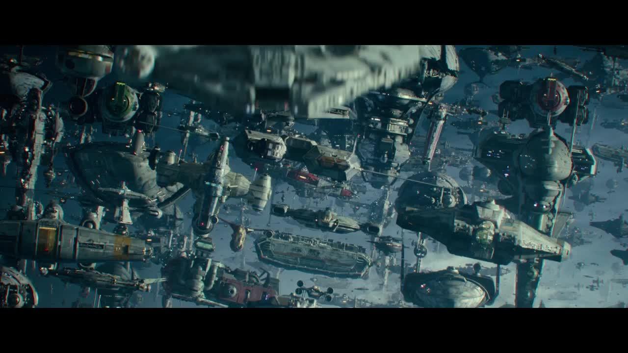 Star Wars The Rise Of Skywalker Final Trailer Ghost Gif By Alleef Ashaari Gfycat