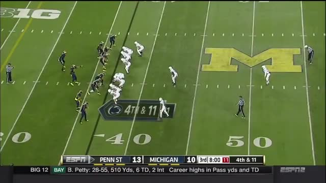 Watch and share 2014 Michigan Football Highlights Vs. Penn State GIFs by bscaff on Gfycat