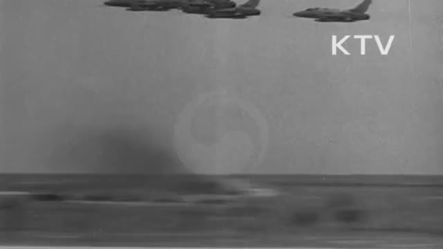 Watch F-100 Super Sabres drop napalm (1962) GIF by mojave955 (@charlielee955) on Gfycat. Discover more airforce, explosion, militarygfys GIFs on Gfycat