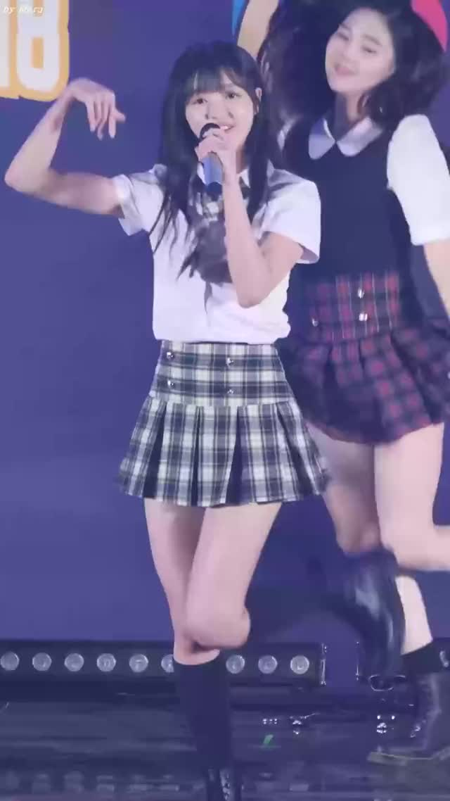 Oh My Girl - Yooa school girl outfit