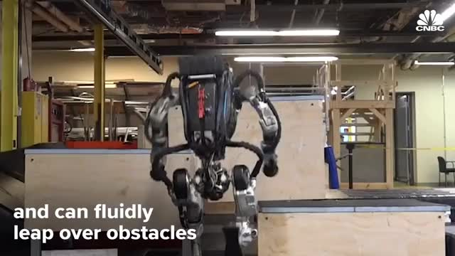 Watch Boston Dynamics' Atlas Robot Can Do Parkour GIF on Gfycat. Discover more CNBC, Cable, Money, stocks GIFs on Gfycat