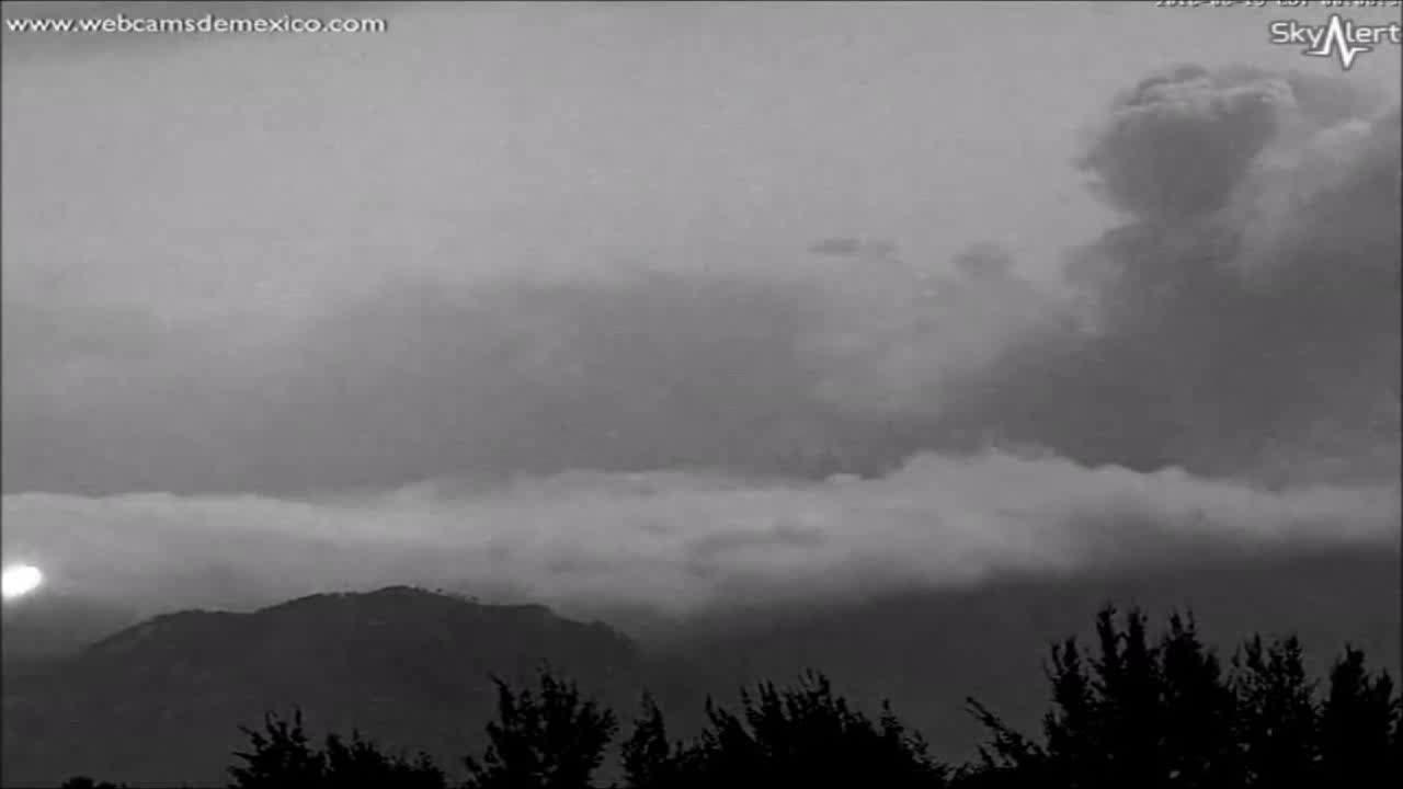 Popocatépetl, UFOs, Ovnis filmés au volcan Popocatépetl au Mexique (19-06-2016) GIFs