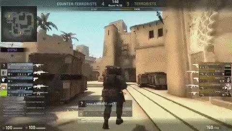 Watch and share CSGO Spin Bot Hacks! Funny Cheater ! GIFs on Gfycat