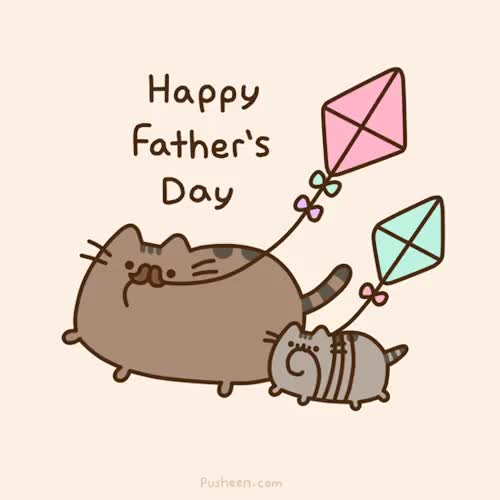 Watch this cat GIF on Gfycat. Discover more cat, fathers day, happy fathers day, pusheen GIFs on Gfycat