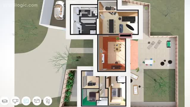 a virtual look inside the case study house 3 by william w wurster theodore bernardi