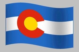 Animated Flag Colorado GIFs
