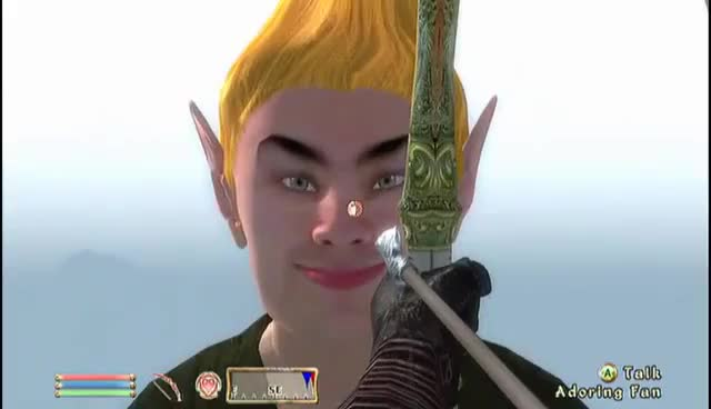Watch Elder Scrolls Oblivion: Adoring Arrow To The Head GIF on Gfycat. Discover more related GIFs on Gfycat