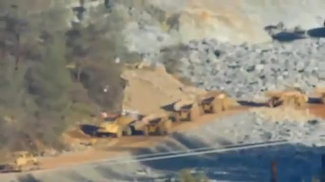 Oroville dam update 03 02 17 Oroville Dam Spillway cleanup GIF