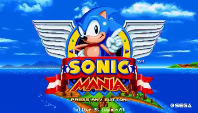 Watch and share Sonic Mania - Title Screen [Free To Use] GIFs on Gfycat