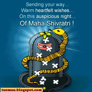 Watch and share Sending Your Way Warm Heartfelt Wishes On This Auspicious Night Of Maha Shivratri 2017 Animated Ecard GIFs on Gfycat