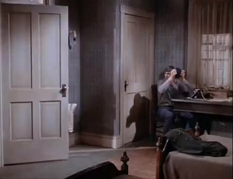Watch honey i'm home GIF on Gfycat. Discover more honey i\'m home, kirk, spirk, spock, star trek, the city on the edge of  forever, tos GIFs on Gfycat
