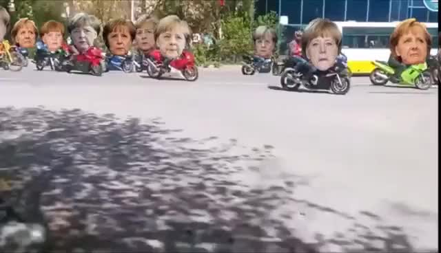 Watch SCHULZZUG überrollt salzige Merkeltruppe! MEGA! GIF on Gfycat. Discover more related GIFs on Gfycat