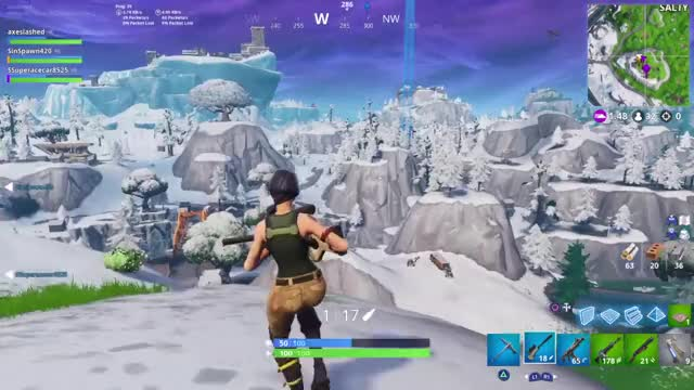 Watch Beautiful Fortnite Sniper Shot Hitting Player off Moving Plane in midair GIF by ThePyrotechnician (@thepyrotechnician) on Gfycat. Discover more PS4share, Fortnite, Fortnite epic sniper shot, Fortnite sniper shot, Gaming, PlayStation 4, Sony Interactive Entertainment, ThePyrotechnician, sniper shot moving plane fortnite GIFs on Gfycat