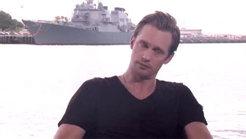 Watch and share Alexander Skarsgard GIFs on Gfycat
