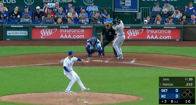 Watch and share Jakob Junis GIFs and Baseball GIFs by Pitcher Giffer on Gfycat