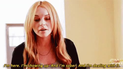 Watch and share Lohan Sober GIFs on Gfycat