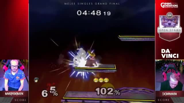 Watch UGC Melee Grand Finals 2 - Armada (Peach) vs. Mew2King (Marth) GIF on Gfycat. Discover more smash, smash open, ugc GIFs on Gfycat