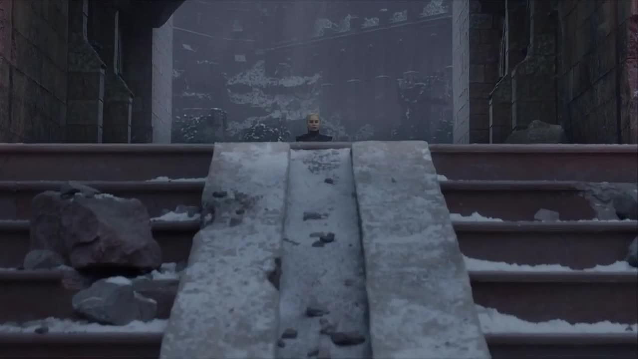 daenerys targaryen, drogon, emilia clarke, game of thrones, season 8, Cool Shot Daenerys and Drogon Game of Thrones GIFs
