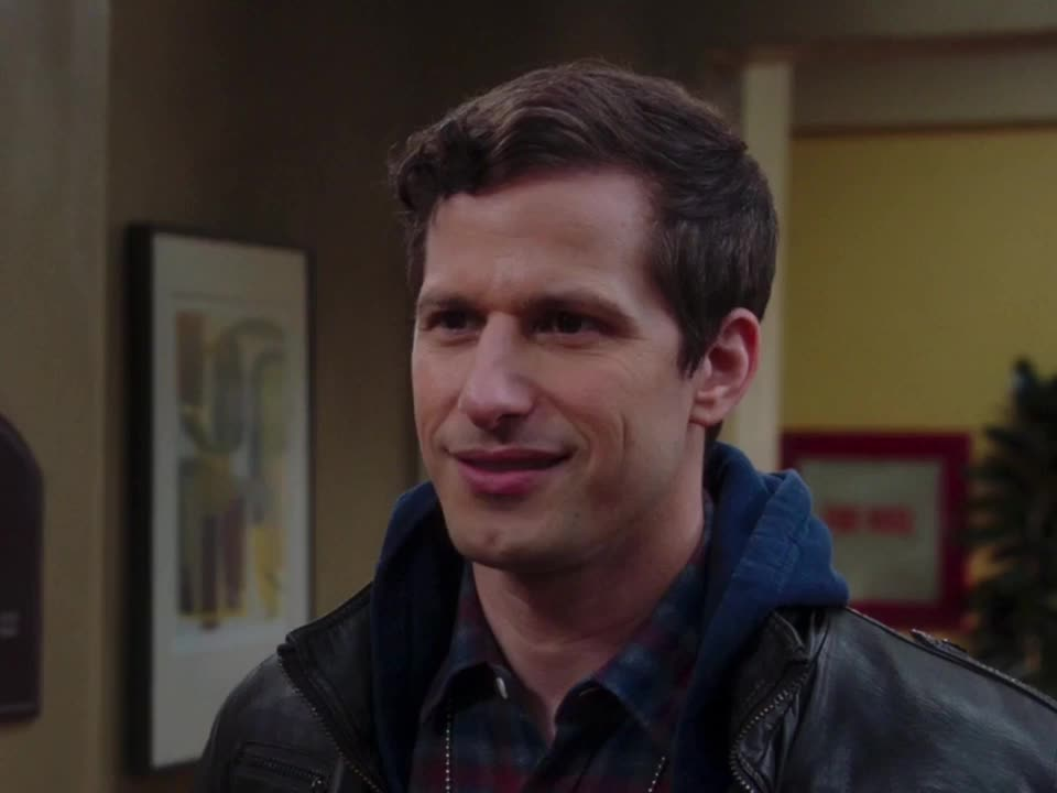 andy samberg, brooklyn nine nine, celebs, reaction, weird, B99 - Weird reaction GIFs