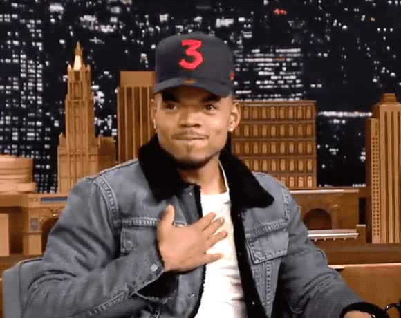 Watch and share Chance The Rapper GIFs by Reactions on Gfycat