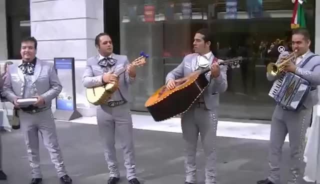 Watch and share La Cucaracha By Santa Cecilia Mariachi Band GIFs on Gfycat