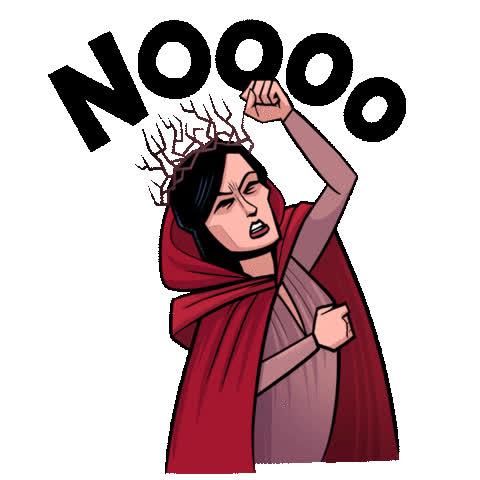 dark horse, dark horse comics, david harbour, hellboy, hellboy 2019, hellboy movie, milla jovovich, no, no no no, nope, superhero, superheroes, Hellboy Nooo GIFs