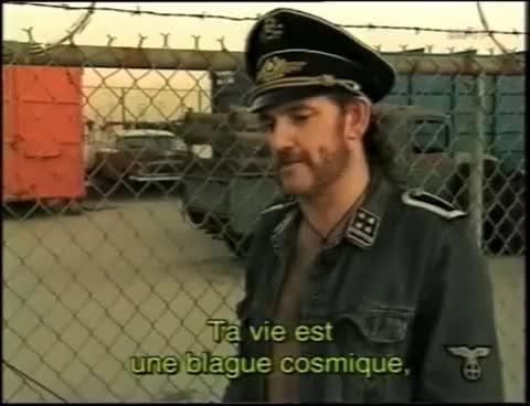Watch and share Motörhead Lemmy Interview 1995 ARTE (rare) GIFs on Gfycat