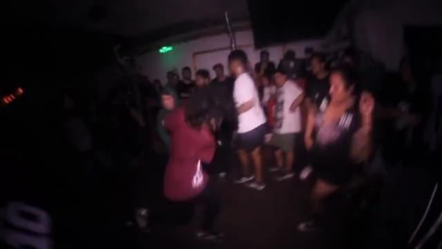 HOLLOW HUMANITY @ LUCHAR [LIVE CROWDKILL FEST 1] SANTIAGO DE CHILE 2018
